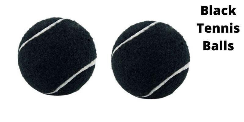 Black Tennis Balls