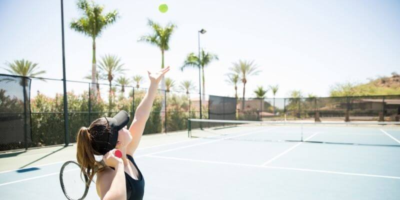 an ace in tennis
