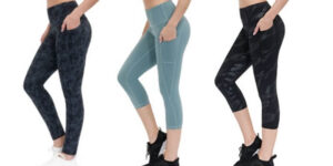 ALONGFIT Leggings for Women with Ball Pocket