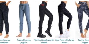 THE GYM PEOPLE Leggings for Women with Pocket