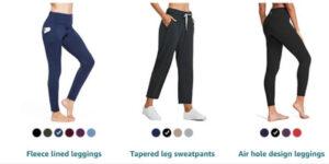 "BALEAF Women's 28"" Athletic Pants"