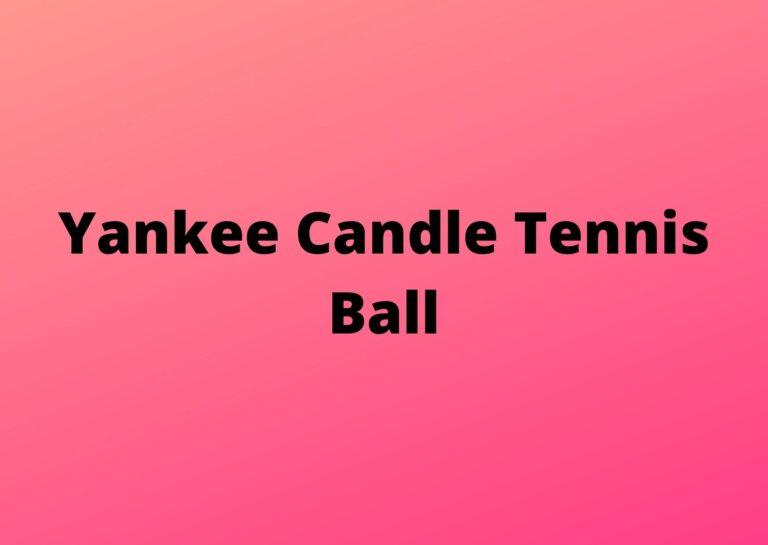 tennis ball scented air freshener