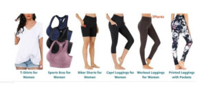 Heathyyoga Pants for Women with Pockets