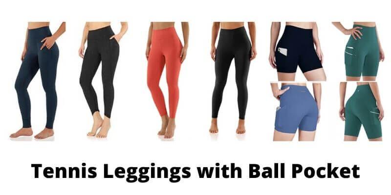 Tennis Leggings with Ball Pocket