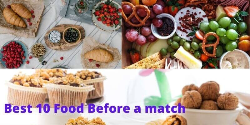 What to eat before a tennis match