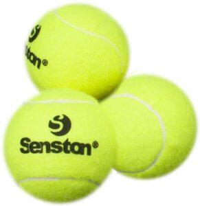 Senston Tennis Balls 3 Pack for Training