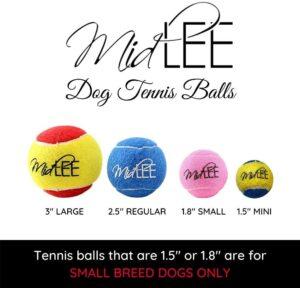 Mini Dog Tennis Balls Bulk
