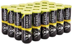 DUNLOP Grand Prix Extra Duty Hard Court Tennis Balls
