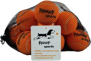 Dog Tennis Balls by Woof Sports