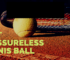 pressureless tennis ball