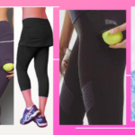 Tennis Leggings with Ball Pocket
