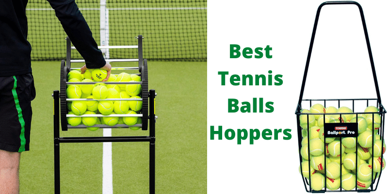best tennis ball hopper