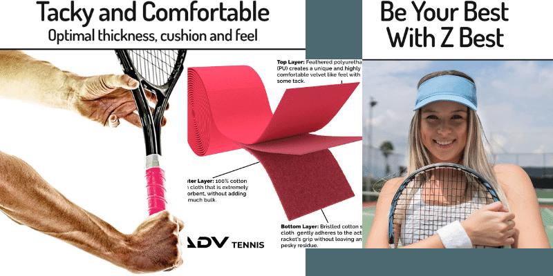 Best Grip for Sweaty Hands Tennis