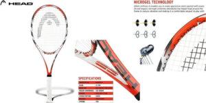 HEAD Microgel Radical Tennis Racquet
