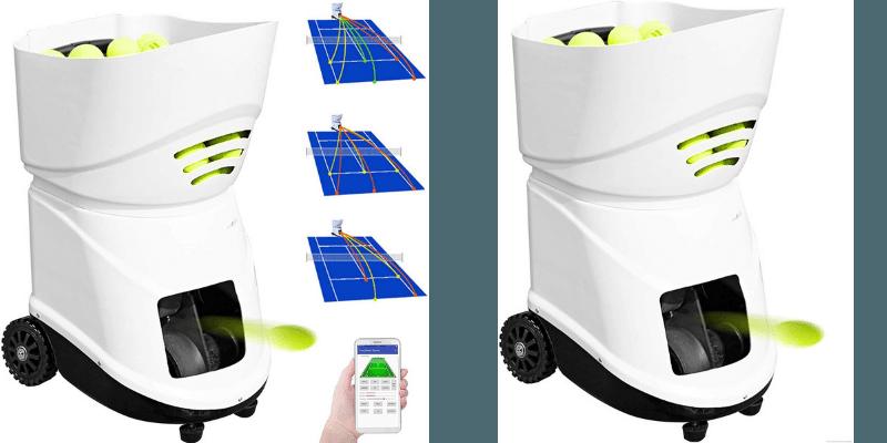 YLOVOW Tennis Ball Machine Trainer