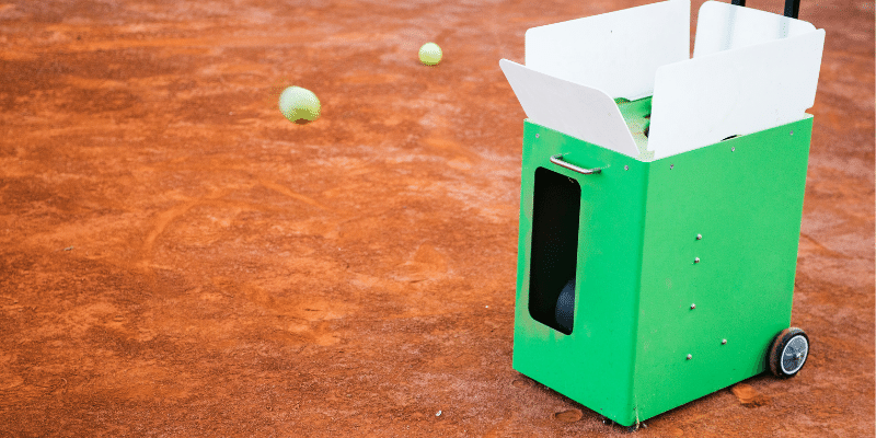 Silent Partner Tennis Ball Machine Review