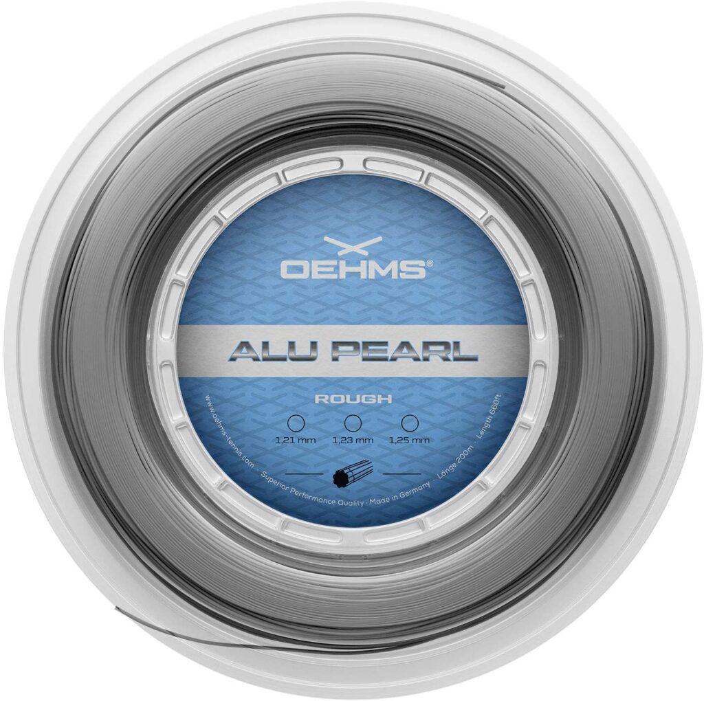 OEHMS Alu Pearl Rough Tennis String