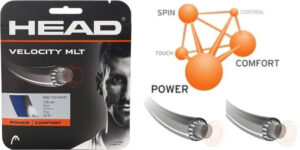 HEAD Velocity MLT Tennis Racket String