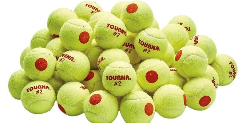 Tourna Orange Dot Low Compression Tennis Ball
