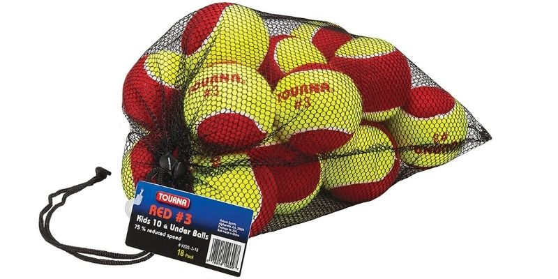 Tourna Low Compression Stage-3 Tennis Balls