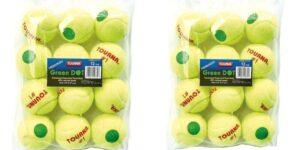 Tourna Green Dot Low Compression Tennis Ball