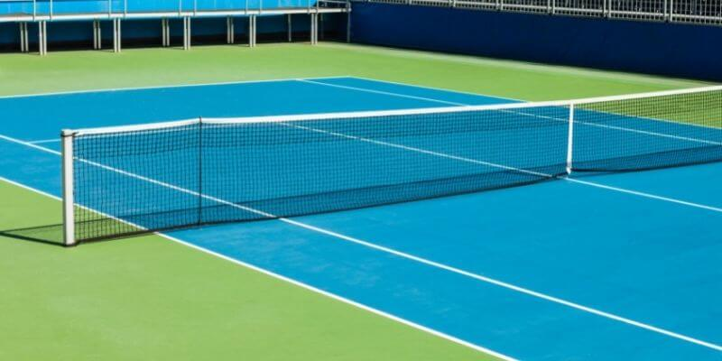 types of tennis courts