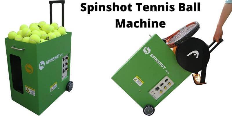 Spinshot Tennis Ball Machine review